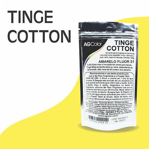 Tinge Cotton Amarelo Fluor 51 - 120g