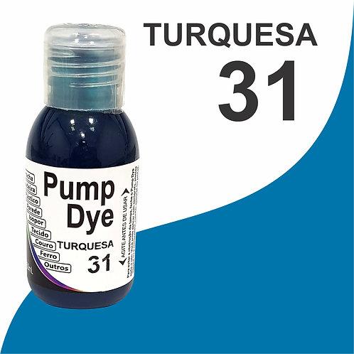Pump Dye Turquesa 31