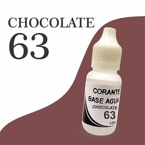 Corante Base Água - Chocolate 63