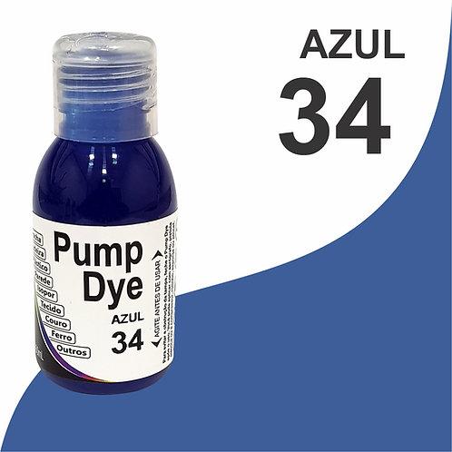 Pump Dye Azul 34