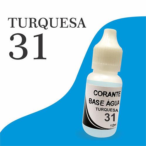Corante Base Água - Turquesa 31