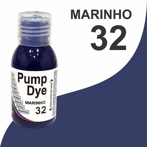 Pump Dye Marinho Escuro 32