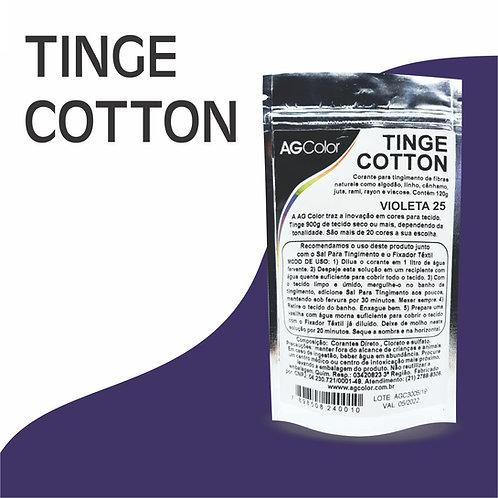 Tinge Cotton Violeta 25 -120g