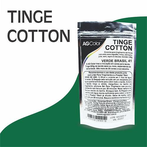Tinge Cotton Verde Brasil 41 - 120g