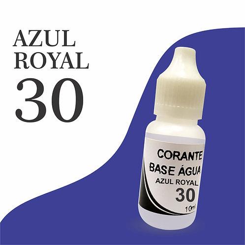 Corante Base Água - Azul Royal 30