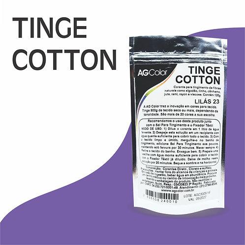 Tinge Cotton Lilás 23 - 120g