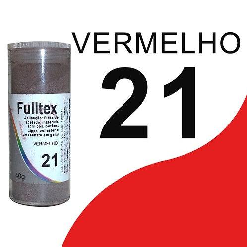Fulltex Vermelho 21 - 40g