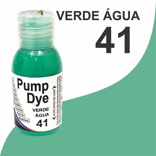 Pump Dye Verde Água 41