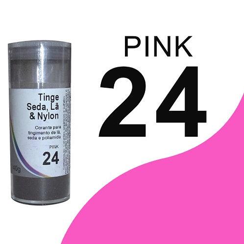 Tinge Seda, Lã E Nylon Pink 24 - 40g