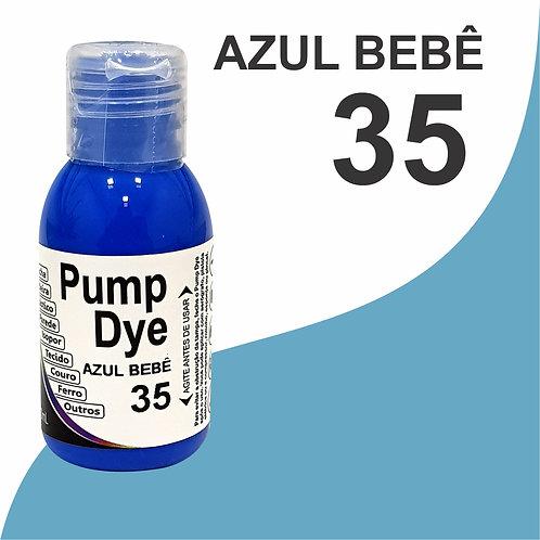 Pump Dye Azul Bebê 35