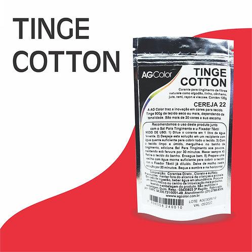 Tinge Cotton Cereja 22 - 120g