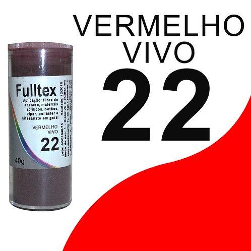 Fulltex Vermelho Vivo 22 - 40g