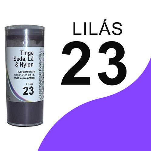 Tinge Seda, Lã E Nylon Lilás 23 - 40g