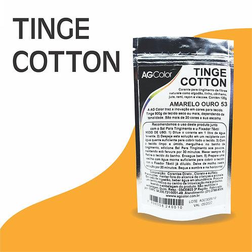 Tinge Cotton Amarelo Ouro 53 - 120g