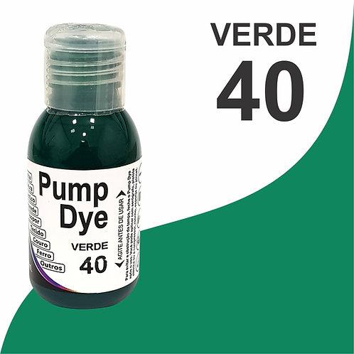 Pump Dye Verde 40