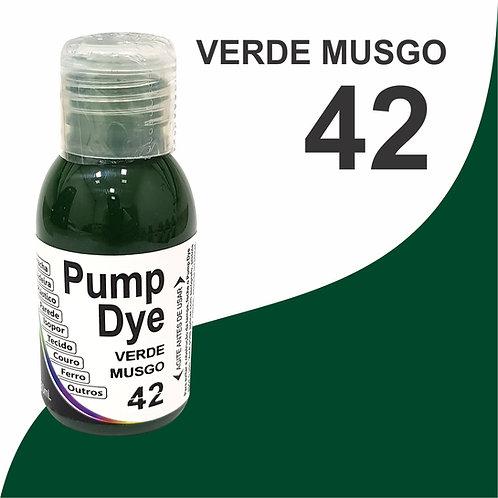 Pump Dye Verde Musgo 42