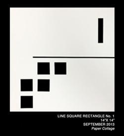 Line Square Rectangle Collage