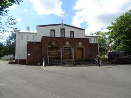 St Catherine Labouré Church, Glasgoe - installation of triptych