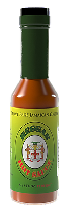 REGGAE HOT SAUCE - 3 bottles