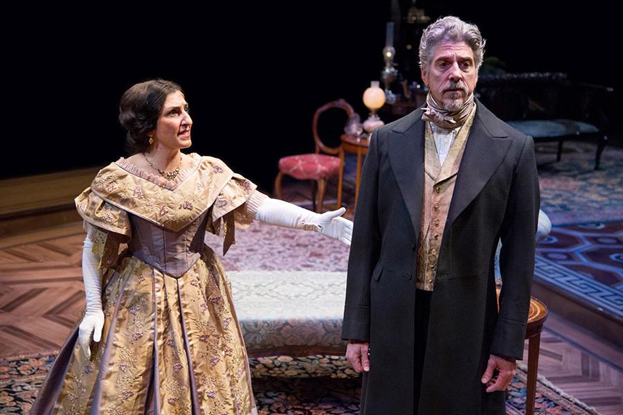 Photo of Janet Hayatshahi and James Whal