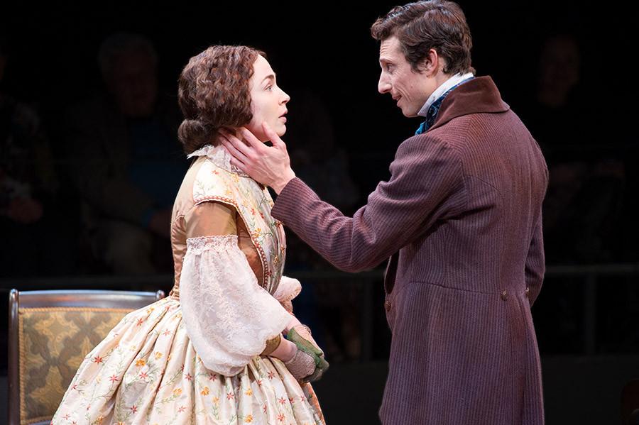 Photo of Laura C Harris and Jonathan Dav