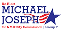 Michael Joseph Re-election logo