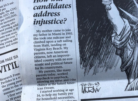 How will candidates address injustice?