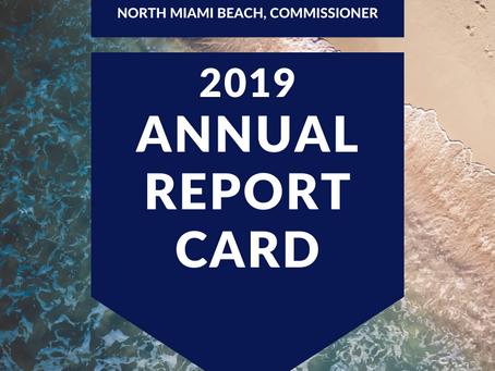 2019 Report card