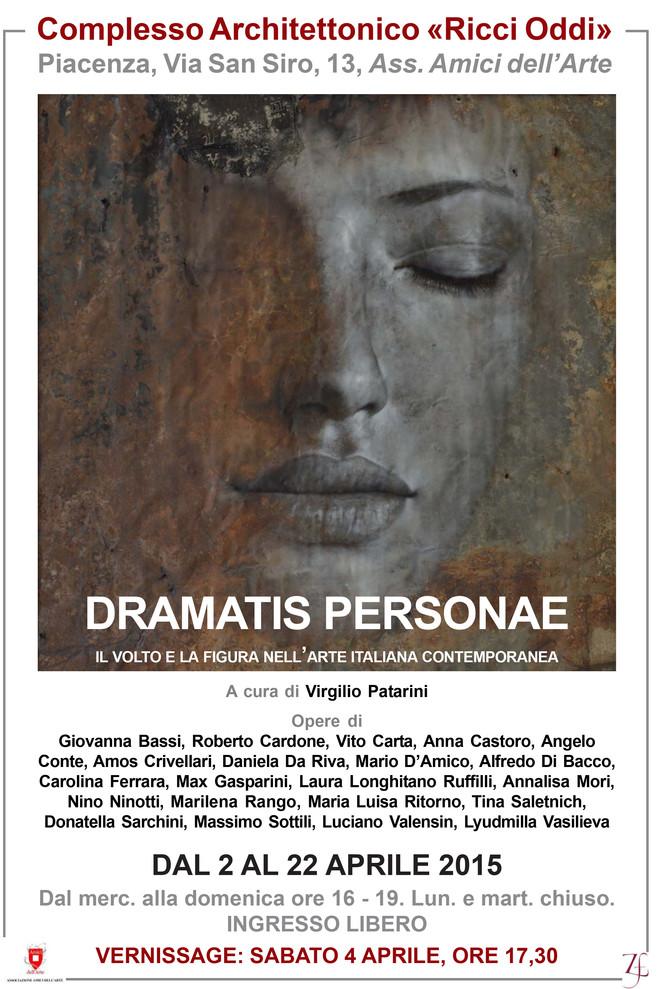 """Marilena Rango collabora ancora con il progetto """"Dramatis Personae"""", esponendo a Piacenza"""