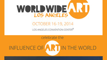Marilena Rango al WORLDWIDE ART Los Angeles 2014
