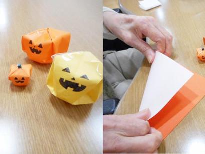 ハロウィンかぼちゃ!