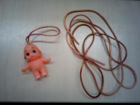 ☆キューピー人形のストラップ☆