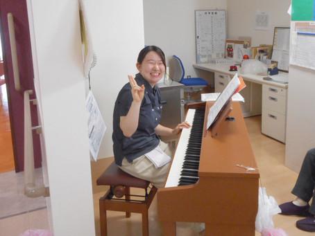 田島さんのピアノ