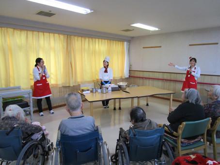 12月13日(水)・16日(土) 敬寿園クリスマスケーキ実演会