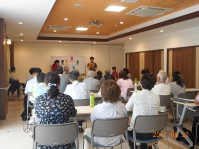七里地区民生委員・児童委員との「意見交換会」を開催しました