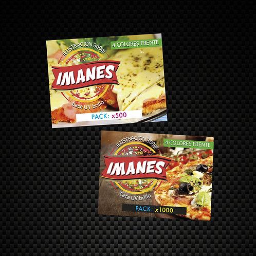 Imanes 5X7 Con Laca 300 gramos