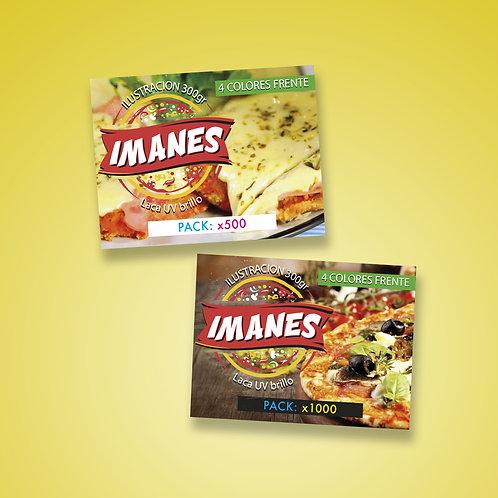 Imanes 7x5 Con Laca 300 gramos