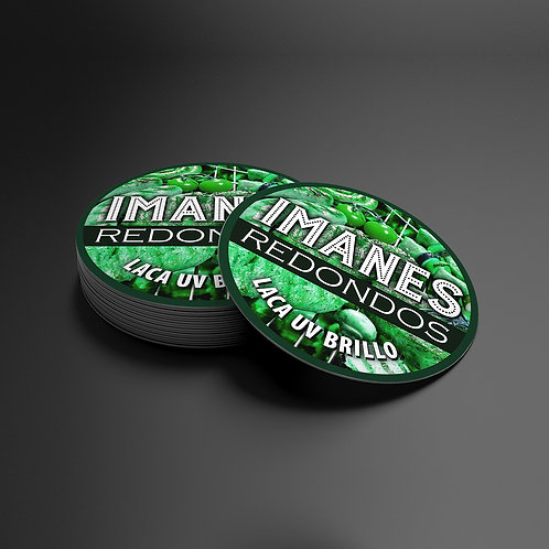 Imanes 6x6 Con Laca 300 gramos