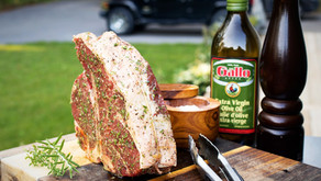 Bistecca alla Fiorentina - Grilled Porterhouse and Herbs
