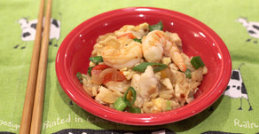 Chicken and Shrimp Rice