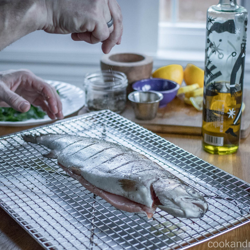 Grilled Trout-4