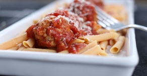 Good For You Turkey Meatballs in Tomato Sauce