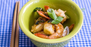 Asian Honey Garlic Shrimp
