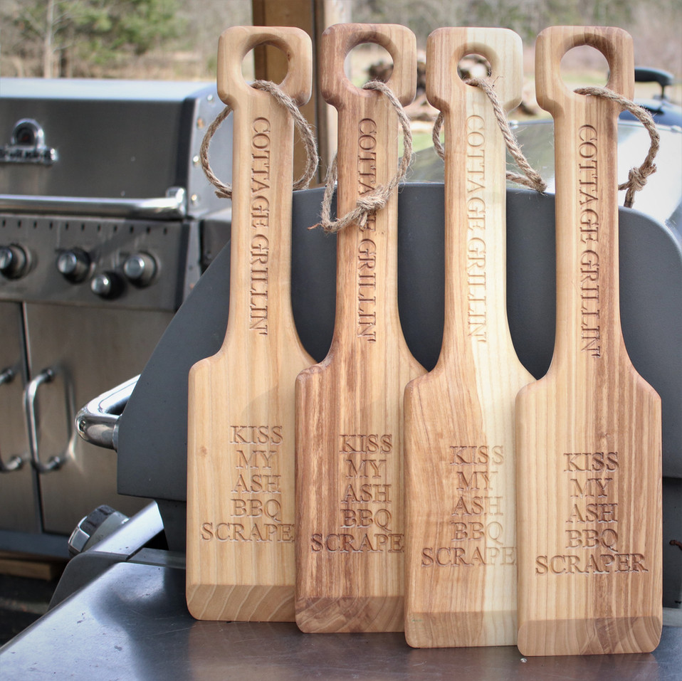 Personalized Save Grill Scrapers