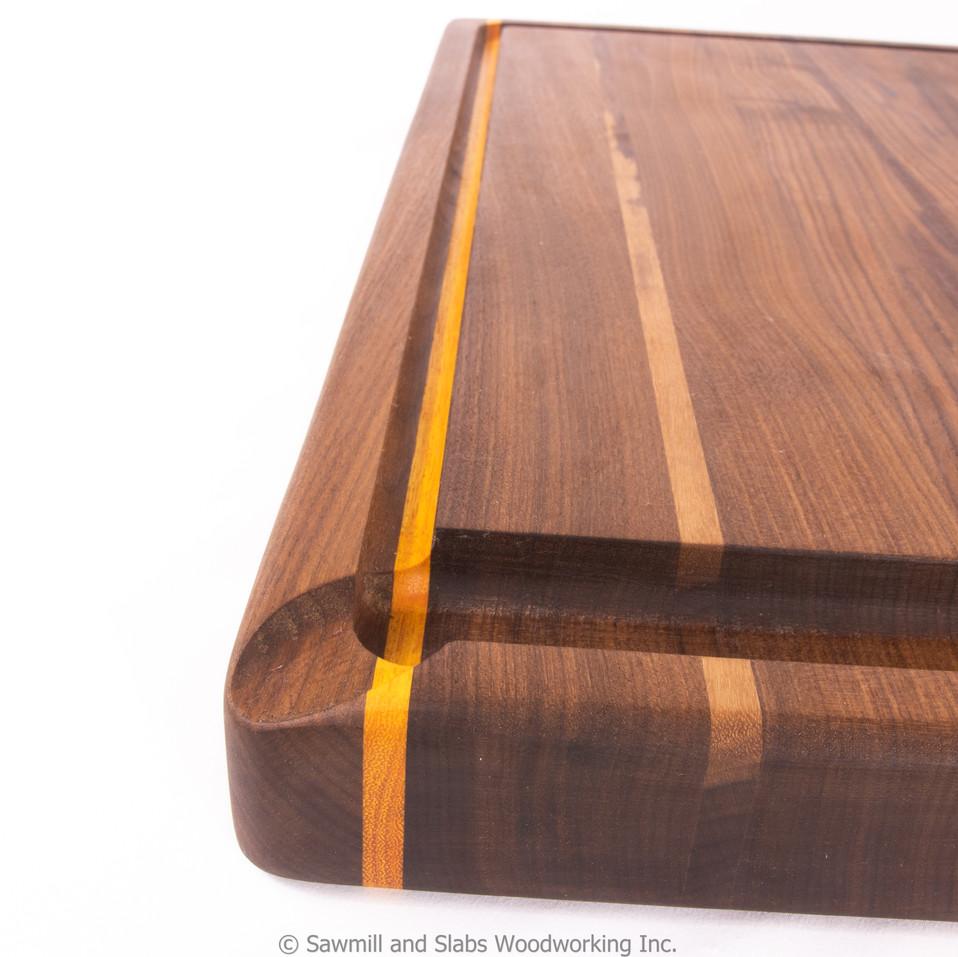 Large Cutting Board with Osage Orange