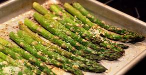 Parmesan and Garlic Asparagus