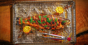 Grilled Trout with Parsley, Lemon and Thai Chili Peppers