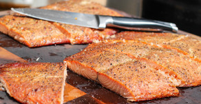 Peppery Smoked Salmon - Dry Cure