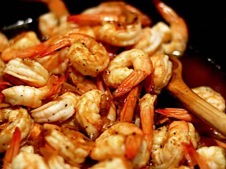 Spicy Orange Zest Shrimp
