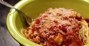 Italian Sausage Spaghetti - Mange! Mange!